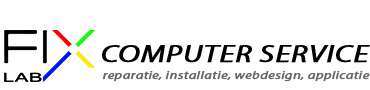 FixLab computer service & reparatie Logo